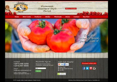 Linda's Country Cupboard Website