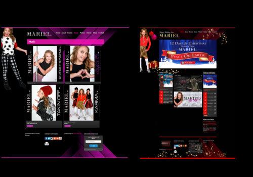 Mariel's Website – Regular & Holiday