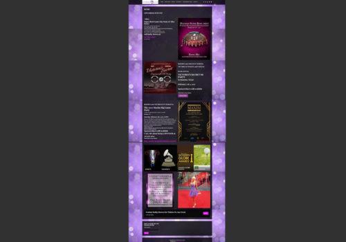 Kathy Brown Events Website