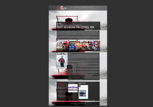 U12 Racing Website